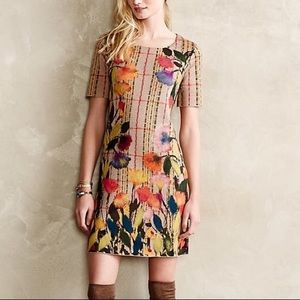 Anthropologie Troubadour Bloomline Shift Dress 2